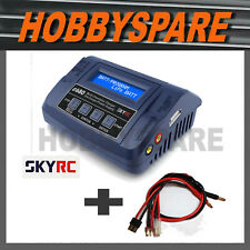NEW SKYRC E680 AC DC FAST RC BATTERY CHARGER + MULTI LEAD COMBO TRAXXAS TAMIYA