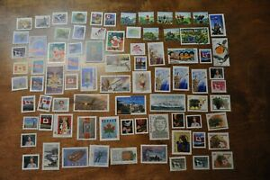 Nice lot of 80 G/F Canadian stamps no postmark no gum
