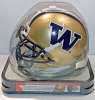 WASHINGTON HUSKIES FOOTBALL NCAA COLLEGE AUTHENTC SCHUTT MINI HELMET