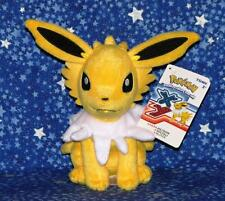 Jolteon Pokemon Plush Doll Toy by Tomy from 2015 New with Tags USA Seller