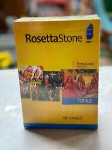 ROSETTA STONE Portuguese WIN/MAC COURSE version 4