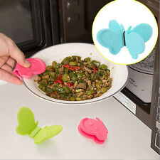 Butterfly Shaped Silicone Anti-scald Devices Kitchen Tool Cute Adorable Gadgets