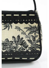 Isabella Fiore Multicolor Floral Print Hologram Detail Baguette Handbag