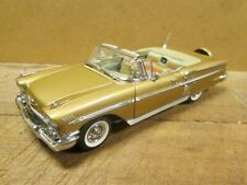 New Listing1958 Chevrolet Impala, Anniversary Gold, 1:24 Scale - Danbury Mint, Mint in Box