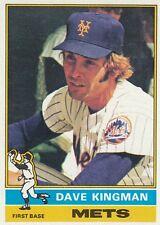 Topps 1976 #40 Dave Kingman-New York Mets