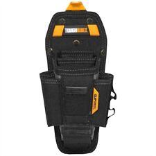 ToughBuilt Tool Bag Technician 7 Pocket Pouch Large Black Work Belt Clip Tech