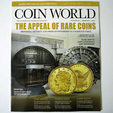COIN WORLD Magazine January 2017 - The Appeal Of Rare Coins - New