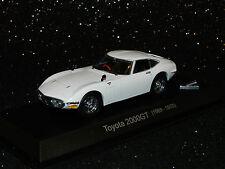 Kyosho 1/43 Toyota 2000GT (1969 - 1970) White MIB
