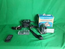 Sony DCR-HC32 NTSC MiniDV Handycam Camcorder 20x Optical Zoom