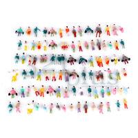 100 Stk. Spur Z Figuren Maßstab 1:220 Zubehör Fahrgäste 8mm sitzende stehende