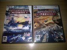 Battlestations Midway & Pacific complet PC Envoi Gratuit UK!!!
