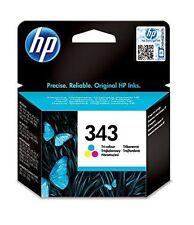 Genuine Autentico HP HEWLETT PACKARD HP 343 Cartuccia di inchiostro a colori Tri C8766EE