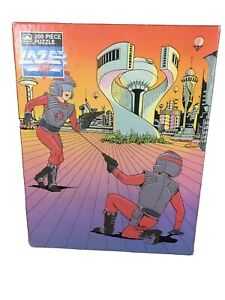 1986 Vintage Lazer Tag Puzzle Sealed - Awesome 80s Graphic