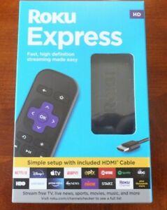 Roku 3930R Express HD Streaming Media Player 2019 - Black