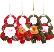 1Pcs Christmas Door Hanging Christmas Tree Home Decor Ornaments Xmas Gift