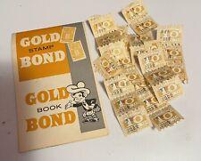 VINTAGE 1960'S GOLD BOND STAMP SAVINGS BOOK MINNEAPOLIS MN SCOTSMAN ICON