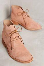 Anthropologie Size 7 (37)Huma Blanco Manuela Lace Up Booties Pink/Rose($308)