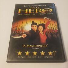 Hero (Dvd, 2004) Starring Jet Li, Tony Leung, Maggie Cheung, Zhang Ziyi
