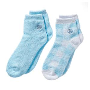 Earth Therapeutics Women's 2 Pair Aloe Infused Moisture Socks