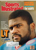LAWRENCE TAYLOR Signed Giants 1/26/87 Sports Illustrated Magazine - SCHWARTZ