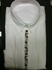 shirt blouse foxcroft 55% cotton 45% polyester size 16