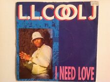 L.L.COOL J 1987 - Vinyl 45rpm Single - I NEED LOVE