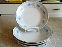 "CROWN MING FINE CHINA 4 PC. SOUP/CONSOMME' BOWL SET in the ""HARMONY"" PATTERN"