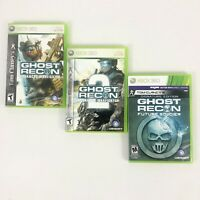 Tom Clancy's Ghost Recon Advanced Warfighter 1 & 2 - Future Soldier - Xbox 360