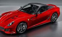 1 18 BBR Ferrari Racing Exotic Sport Race Car gt f gp gto Carousel Red Model Mr