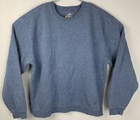 Nordic Track Pullover Sweatshirt Blue Mens L Large