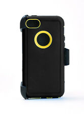 Rugged Case Cover w/Belt Clip for iPhone 5C (Holster Fits Otterbox Defender) NEW
