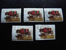 VATICANO - sello yvert y tellier nº 1061 x5 matasellados (A28) stamp