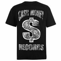 Official Mens Cash Money T-Shirt Crew Neck Tee Top Short Sleeve Cotton Regular