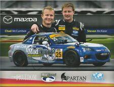 2017 Freedom Autosport #25 Mazda MX-5 Miata ST signed IMSA CTSC postcard