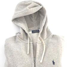 New Polo Ralph Lauren Men's Classic Fleece Full Zip Hoodie Sweatshirt Pony Logo