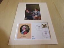 Goethe photograph and original 1982 Germany FDC mount size A4