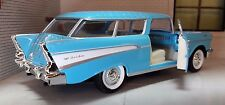 1:24 Scale 1957 Chevrolet Chevy Bel Air Nomad Estate Road Signature Model Car