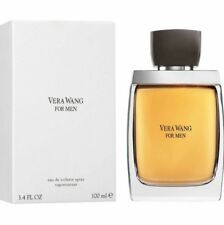 Vera Wang for Men 3.4 oz Eau De Toilette Spray Sealed In Box