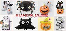 8 Large Halloween Foil Air Fill Balloon Decoration. UK SELLER.