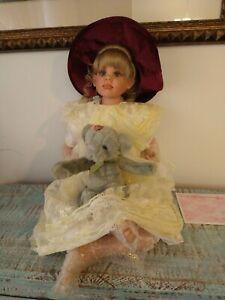 "Fayzah Spanos 28'' Vinyl Doll ""Mon Petite Cherie"" 2002  # 496/500"
