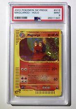 Pokemon PSA 9 Magcargo Skyridge HOLO H16 PROMO E-reader