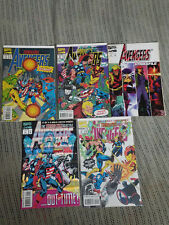 Marvel Comics Avengers Terminatrix Objective #1-4, Avengers Strikefile #1