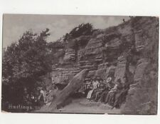 Hastings The Lovers Seat Vintage Tuck Postcard 028a