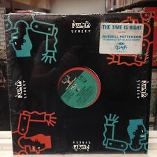 """[SOUL/FUNK]~NM 12""""~RUSSELL PATTERSON~The Time Is Right~[x5 Mixes]~[1989]"""