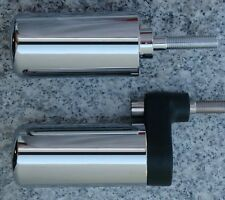 2000-2003 Suzuki GSXR600 GSXR750 GSXR 600 750 CHROME FRAME SLIDERS