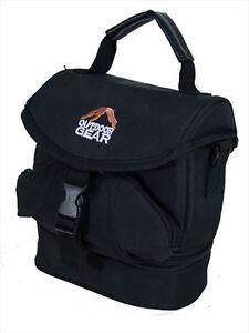 DSLR SLR Digital Camera Bag Case Waterproof Shoulder Messenger Travel Black New