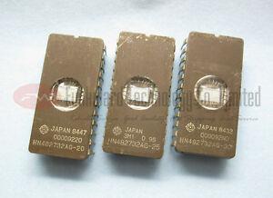 HITACHI HN482732AG 482732 2732 32KBIT UV EPROM x 2PCS