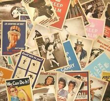 VINTAGE STYLE OLD TIME MEMORY  32 PIECES/SET BOX GREETING POSTCARDS