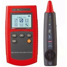 UNI-T UT681A Portable Network Tester Multi-Function Cable Finder with Loop Resis