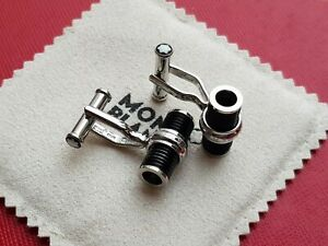 MontBlanc Iconic Collection Stainless Steel & PVD Cufflinks